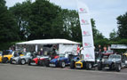 The Lotus 7 club stand at the show