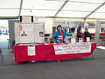 The NGVFA Stall