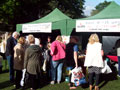 The NGVFA stall & visitors