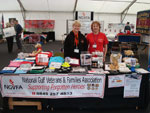 Diane & Rita on the NGVFA stand at Nottingham AFD 2013