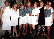 Members at the Ancient Rome night